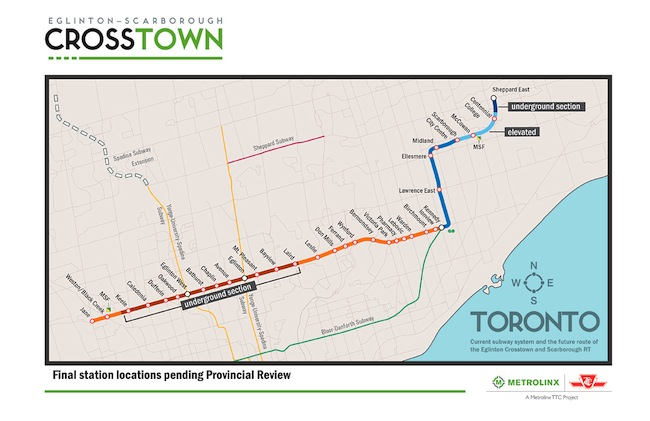 New Toronto Subway Map
