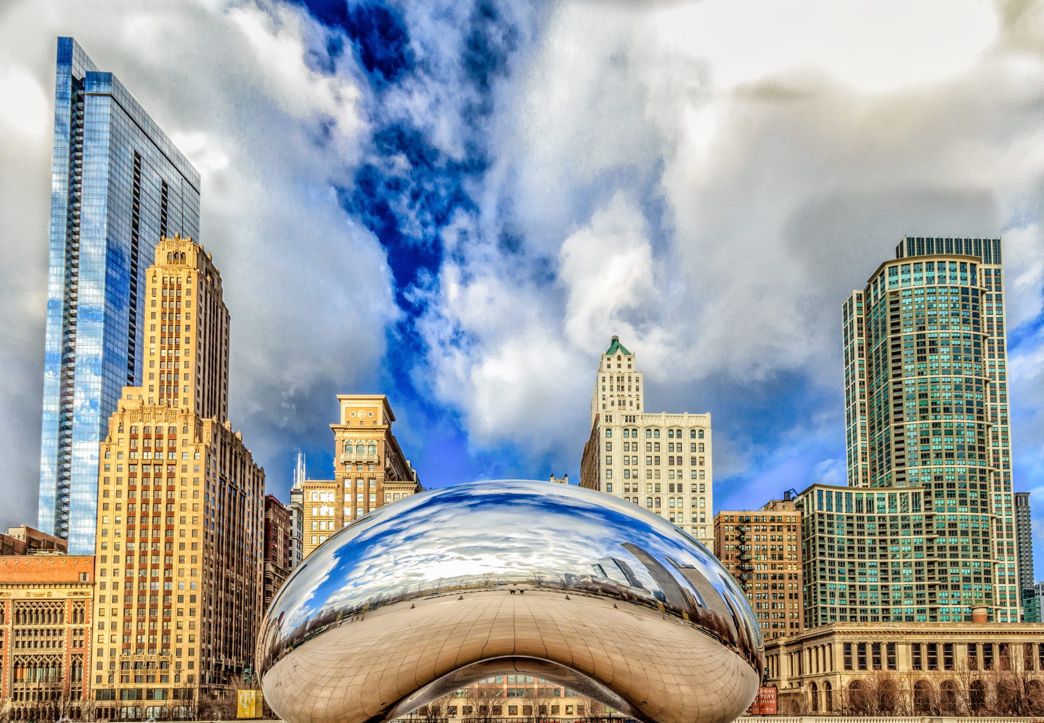 Cloud Gate @ Millenium Park Chicago