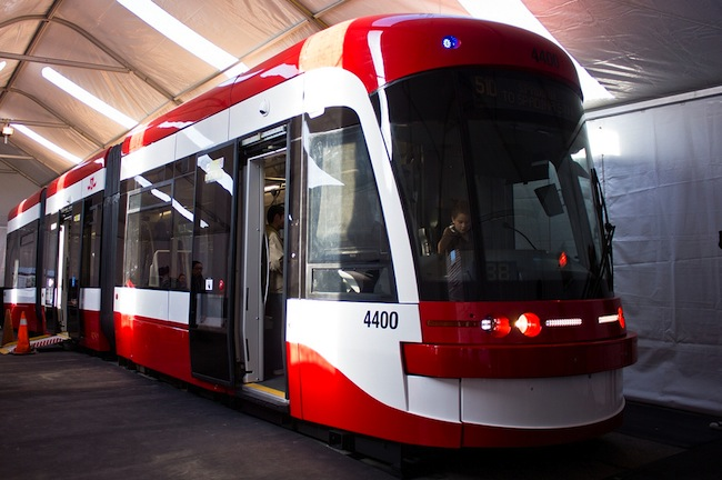 new public transit in Toronto LRT
