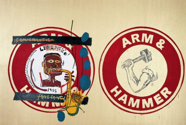 Arm and Hammer II by Andy Warhol and Jean-Michel Basquait