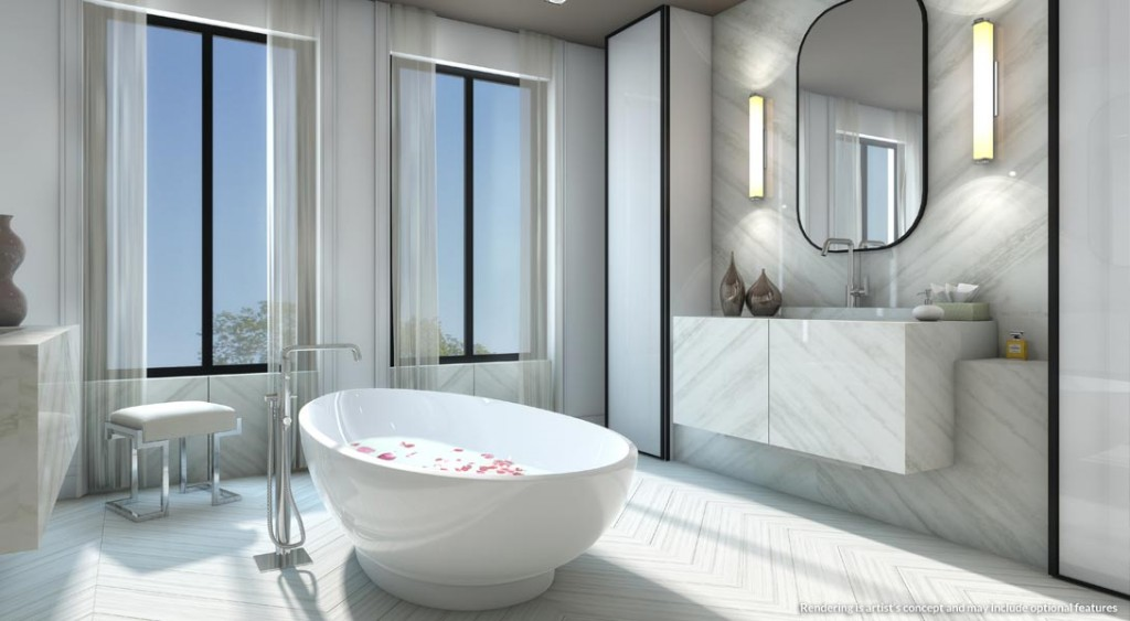 Estates on Bayview luxurious bathroom