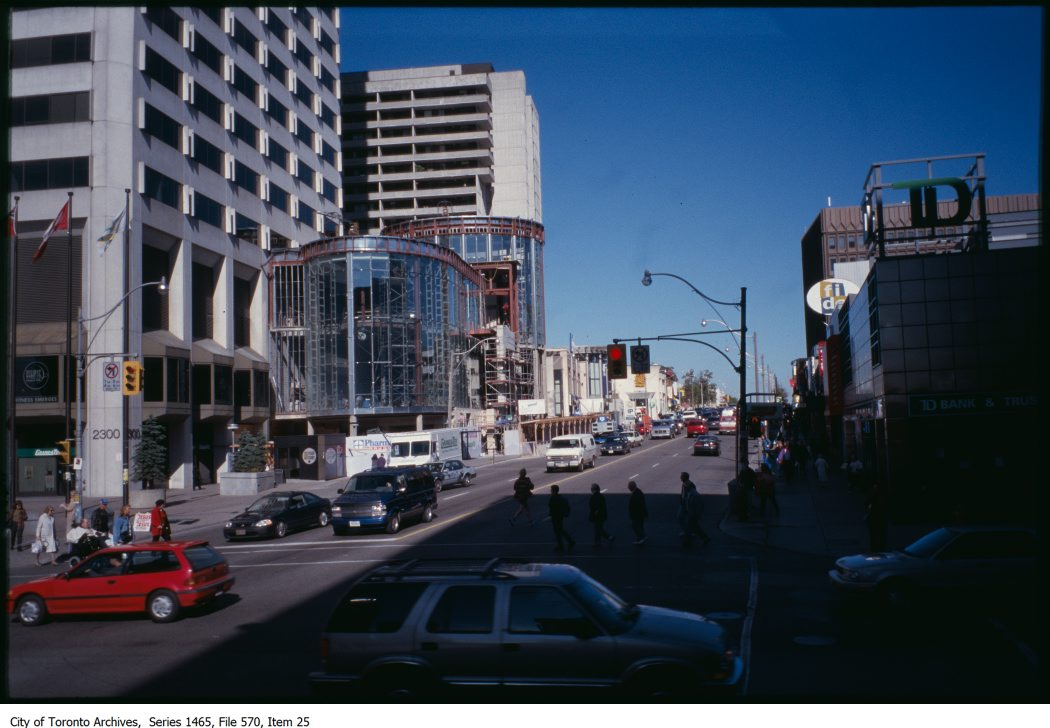 Issues - streetwall/corner buildings and street proportions. - [199?]-1996