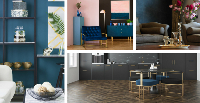 BAZIS Condos Towns Design Trends Navy Blue
