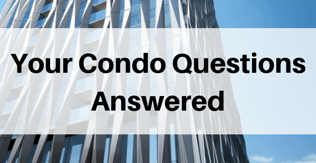 Condo building with Your Condo Questions Answered