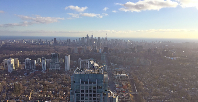 Downtown Toronto from eCondos