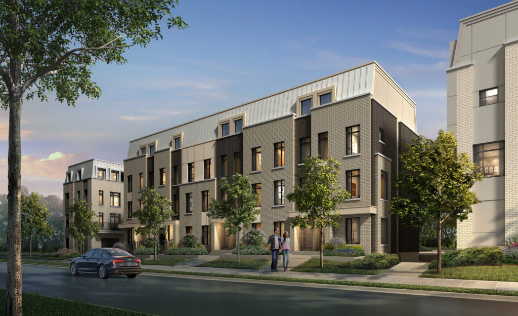 Luxury Bartley Townhomes