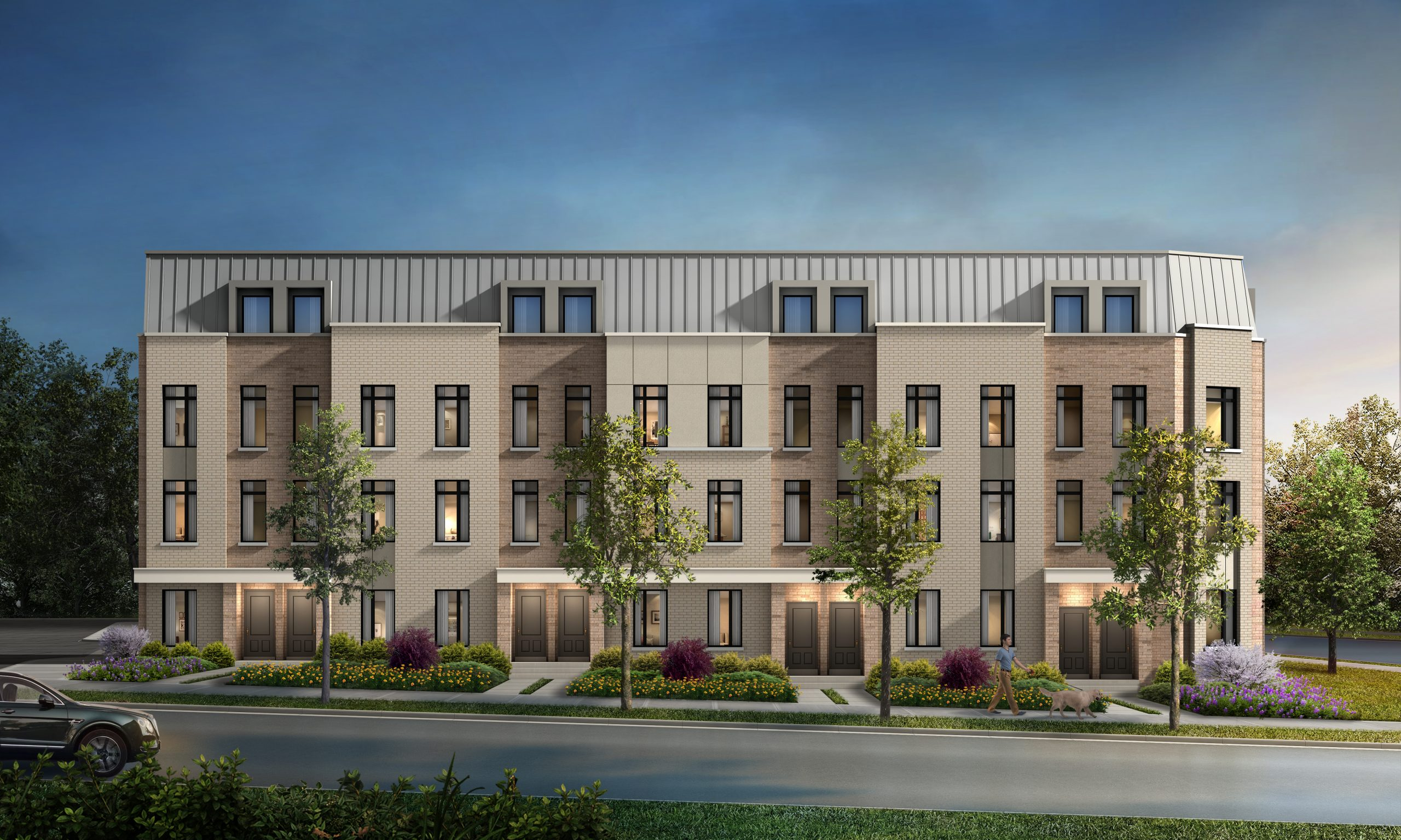 bartley townhomes in toronto